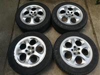 Aluminijumske felne 5x98 R16 za Alfu 147-156