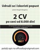 Izrada CV na srpskom i engleskom
