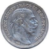 1 kruna srebrni novcic iz 1915. Franc Jozef