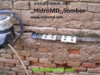 Hidroizolacija  vlaznih kuca -masinsko presecanje