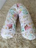 Jastuk za trudnice + navlaka M vel.8