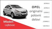 Opel Corsa C Corsa D Vectra C delovi