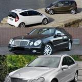 Mercedes delovi A B C E SLK CLK S ML R G