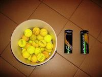Loptice za tenis koriscene