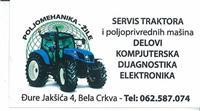 Servis traktora i poljoprvrednih masina