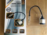 Adapter Kabal sa Konektorom 3,5mm st - 2x3,5 žensk