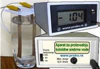 Koloidna srebrna voda aparat za proizvodnju