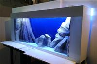 Plazma akvarijum 1 metar - beli