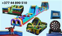 Inflatable fun park - zabavni park na naduvavanje
