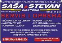 Servis Sonyplaystation 1,2,3,4 i PSP konzoli